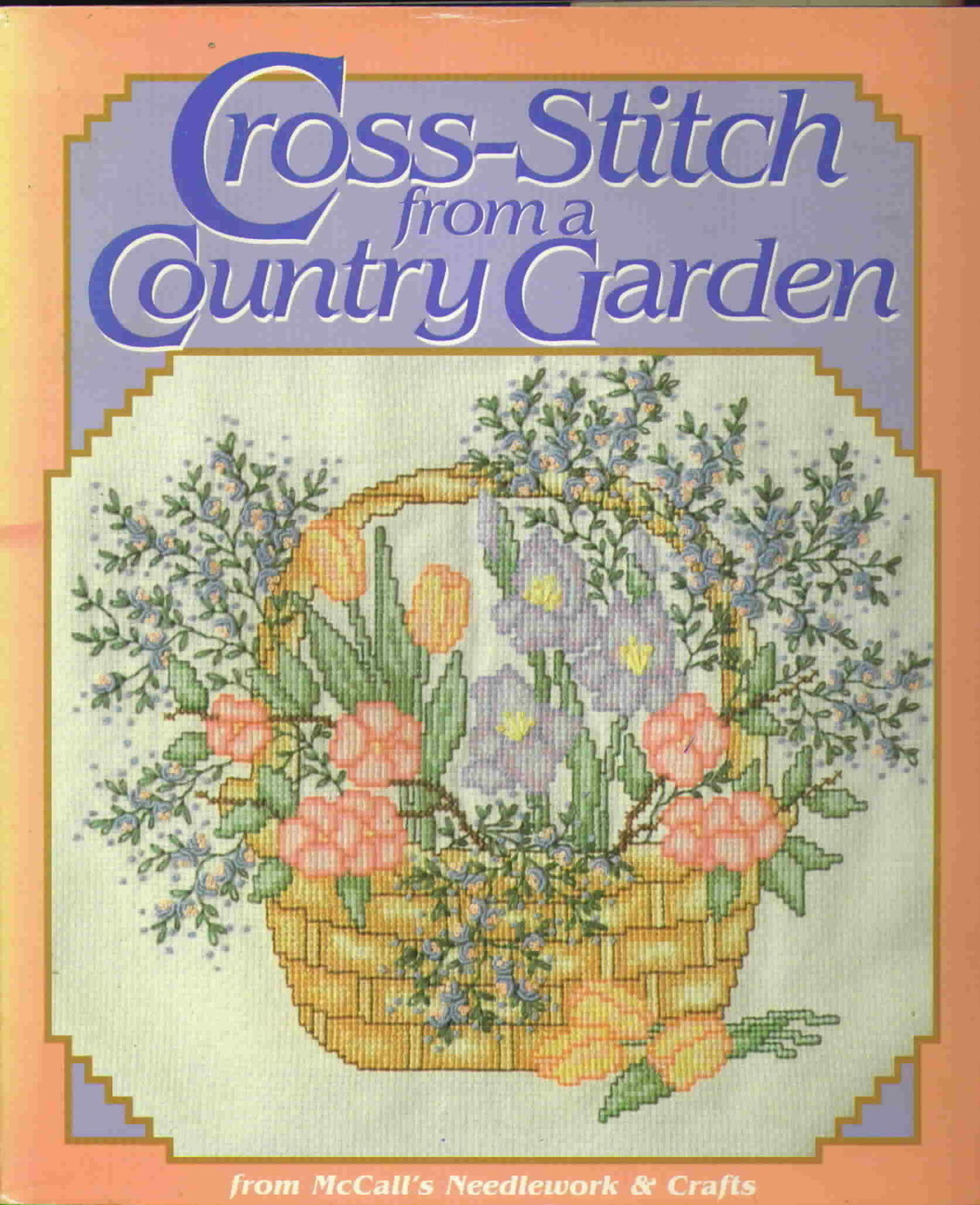 Cross stitch from a country garden
