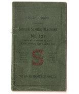 Antique 1915 SINGER Sewing Machine No. 127 INST... - $39.95