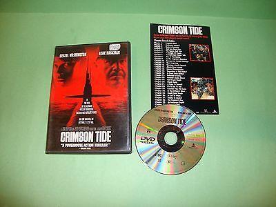Crimson Tide (DVD, 1998, Widescreen)