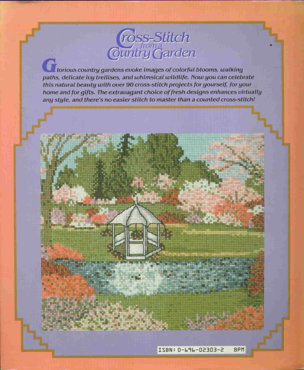 McCall's Cross Stitch from a Country Garden First Edition Hardback