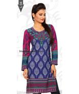 Indian bollywood Designer Crepe tops blouse kurta Kurtis Pakistani Tunics new - $17.10