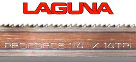 "Laguna Tools ProForce Bandsaw Blade 1/4"" x 14tpi x 93"" NEW Band Saw Blades - $24.00"