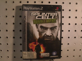 Splinter Cell Double Agent PS2 Tom Clancy Game Ubisoft - $7.82