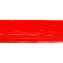 Bright Orange Red (S606) DMC Satin Embroidery Floss 8.7 yd skein 100% rayon DMC - $1.00