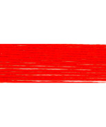Bright Orange Red (S606) DMC Satin Embroidery F... - $1.00