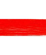 Bright Orange Red (S606) DMC Satin Embroidery Floss 8.7 yd skein 100% ra... - $1.00