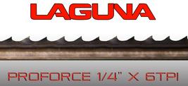 "Laguna Tools ProForce Bandsaw Blade 1/4"" x 6tpi x 105"" NEW Band saw Blades - $26.25"