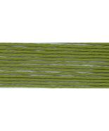Avocado Green (S469) DMC Satin Embroidery Floss 8.7 yd skein 100% rayon DMC - $1.00