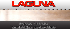 "Laguna Tools ProForce Bandsaw Blade 1"" X 3 T.P.I. - EXTRA THIN KERF 170"" - $51.00"