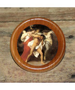 Greek myth Furies ORESTES Altered Art Tie Tack or Ring or Brooch pin - $10.14