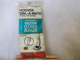 Pack of 3 Type hoover Vacuume Bags Dial a magic 1100 series unopened  - $5.84