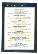 Star Trek card #281 TV Credit Card 2 - $3.00