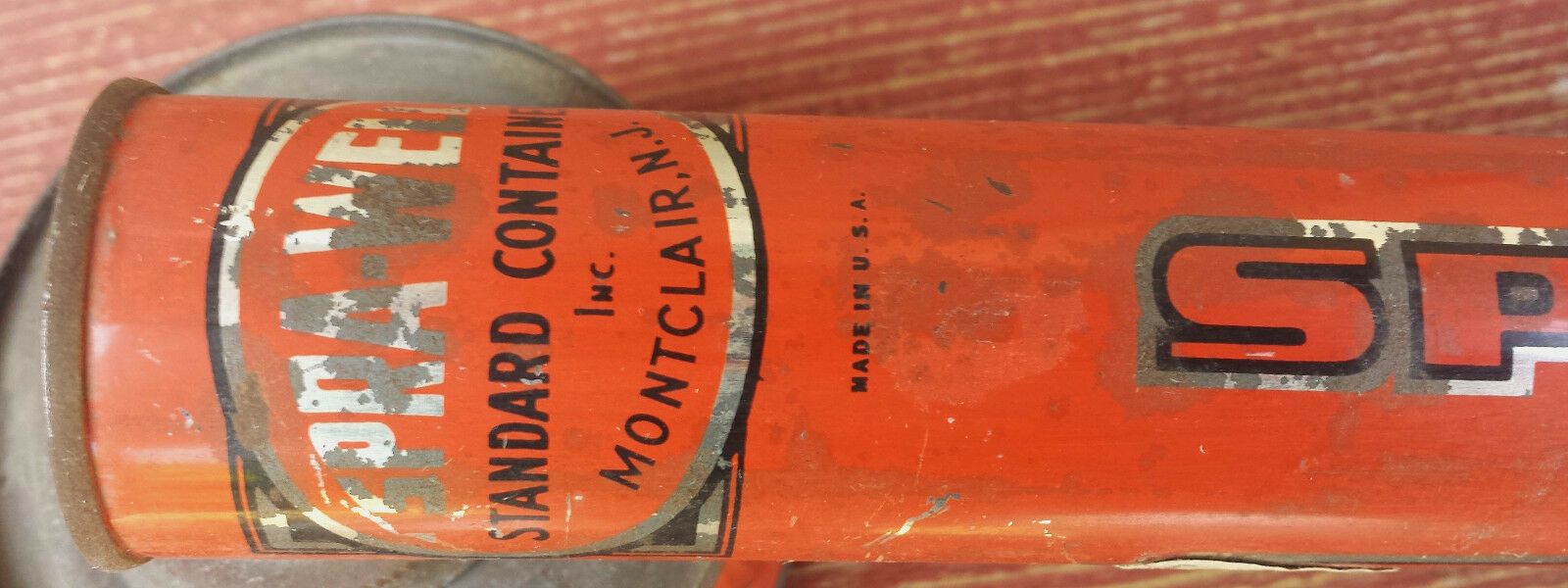 VINTAGE SPRA-WELL BUG SPRAYER STANDARD CONTAINER INC MONTCLAIR NJ
