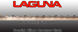 "Laguna Tools ProForce Bandsaw Blade 3/8"" x 4tpi x 128"" Band saw Blades NEW - $32.00"