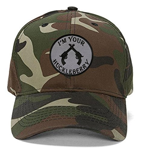 I'm Your Huckleberry Hat Tombstone Movie Quote (Camo)