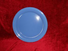 "Nancy Calhoun solid color sky blue chop plate 12 1/4"" - $7.87"