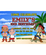 Personalized Jake and the Neverland Pirates Birthday Invitation Digital ... - $8.00