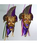 KATHERINE'S COLLECTION Comedy and Tragedy Mask Gift Bags (Set/2) - $49.99
