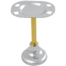 Moen Barrington Pedestal Chrome/Polished Brass Toothbrush Holder 454CB - $19.99