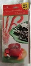 American Greetings 6 Christmas card moneyholders + 6 envelops, cookies a... - $4.99
