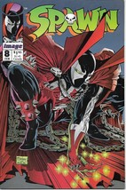 Spawn Comic Book #8 Image Comics 1993 NEW UNREAD FINE+ - $2.99