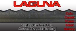 "Scallop Bandsaw Blade 5/8"" X 2 TPI X 133"" Wavy Blade Cuts Carpet Meat Foam - $26.60"