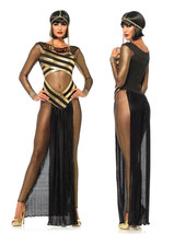 Egypt Cleopatra Goddess Roman Egyptian Ladies Halloween Fancy Dress Cost... - $22.99