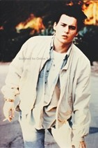 Johnny Depp All in White with Cigarette 4x6 Photo - $4.99