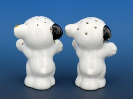 Vintage Novelty Salt & Pepper Shaker Set Japanese Bonzo Dogs 1930s image 2