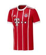 Bayern Munich adidas 2017/18 Home Replica Jersey - Red (M) - $80.00