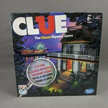 Clue The Classic Mansion Murder Mystery Game 2 Versions Hasbro 2013 Edition New - $24.14