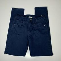 H&M Boys Navy Blue Skinny Denim Jeans Pants Size 12-13Y - $9.90