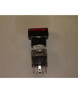 Fuji Push Button Switch AH164-TL Red - $21.50
