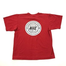 Vintage Nike Moderno Atleta Camisa Corte Atlético Envejecido Camiseta Gráfica - $26.38