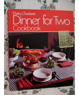Vintage Betty Crockers Cookbook Dinner For Two Recipes Collector Collect... - $14.95