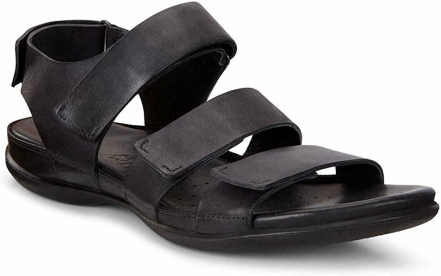 Primary image for ECCO Women's Flash Flat Sandal Black Size 6-6.5 US 37 EUR