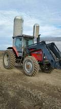 1989 Massey Ferguson 3650 With Loader For Sale In Minden City, Michigan 48456 image 1