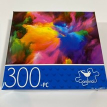 NEW Cardinal RAINBOW COLOR EXPLOSION Jigsaw PUZZLE 300 Pieces - $9.48
