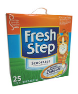 Clorox Petcare Febreze Fresh Step Odor Shield Clumping Litter 25 Pound - $60.11