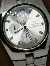 Charles Bernard Vintage Mens Water Resistant Chronograph Watch Japan Mfg - $19.79