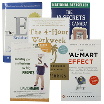 Book Bundle Business The 4 Hour Work Week The E-Myth Revisited - $19.97