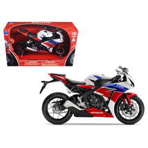 2016 Honda CBR1000RR Red/White/Blue/Black Motorcycle Model 1/12 by New Ray 57793 - $23.57