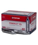 Crosman Powerlet CO2 Cartidges 40 Pack, C-20 - $32.95