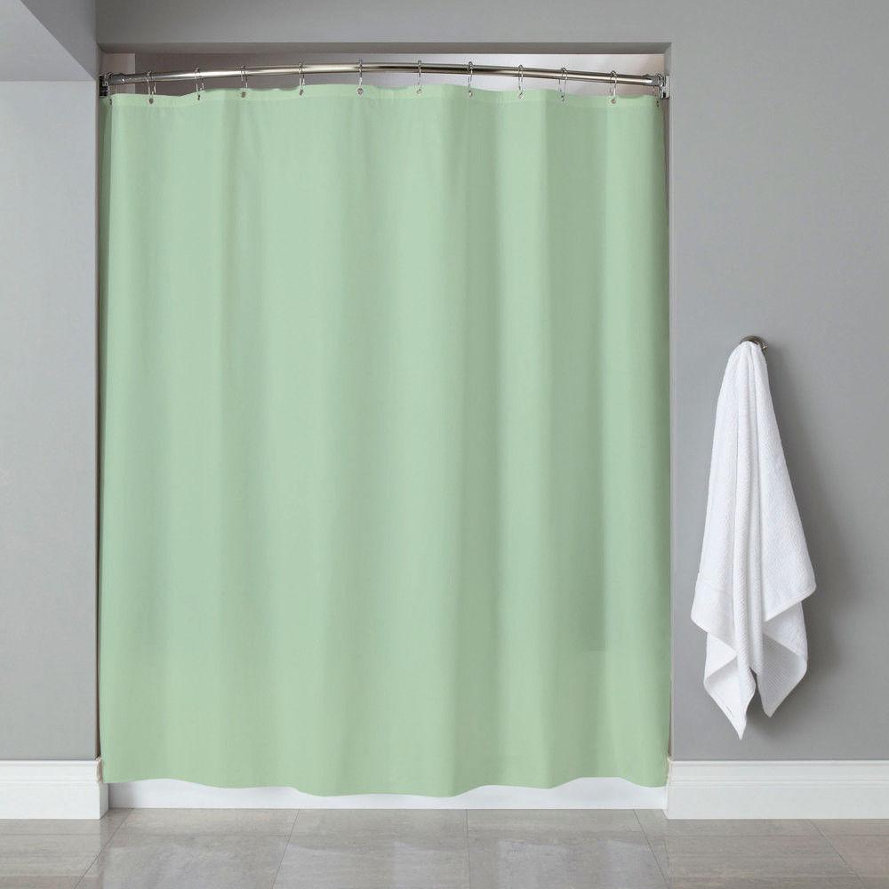 "Popular Bath 6 Gauge Deluxe Hotel Weight Vinyl Shower Curtain Liner 70""x72"""