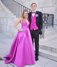 Prom Dress, A Line Evening Dresses, Sleeveless Prom Dress,Long Prom Dresses - $165.00