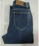 Lee Riders Size 5 24 X 28 Womens Jeans Vintage Mom Made In USA Heavy - $34.99
