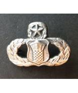 USAF US Air Force Traffic Control Master Mini Lapel Pin Badge 7/8 Inches - $4.85