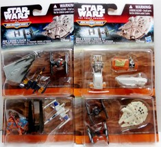 Star Wars 3-Pack Micro Machines 4 sets The Force Awakens 2015 - $33.10 CAD
