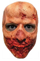 Zombie Mask Walking Dead Teeth Walker Monster Adult Latex Halloween MA1018 - $38.99