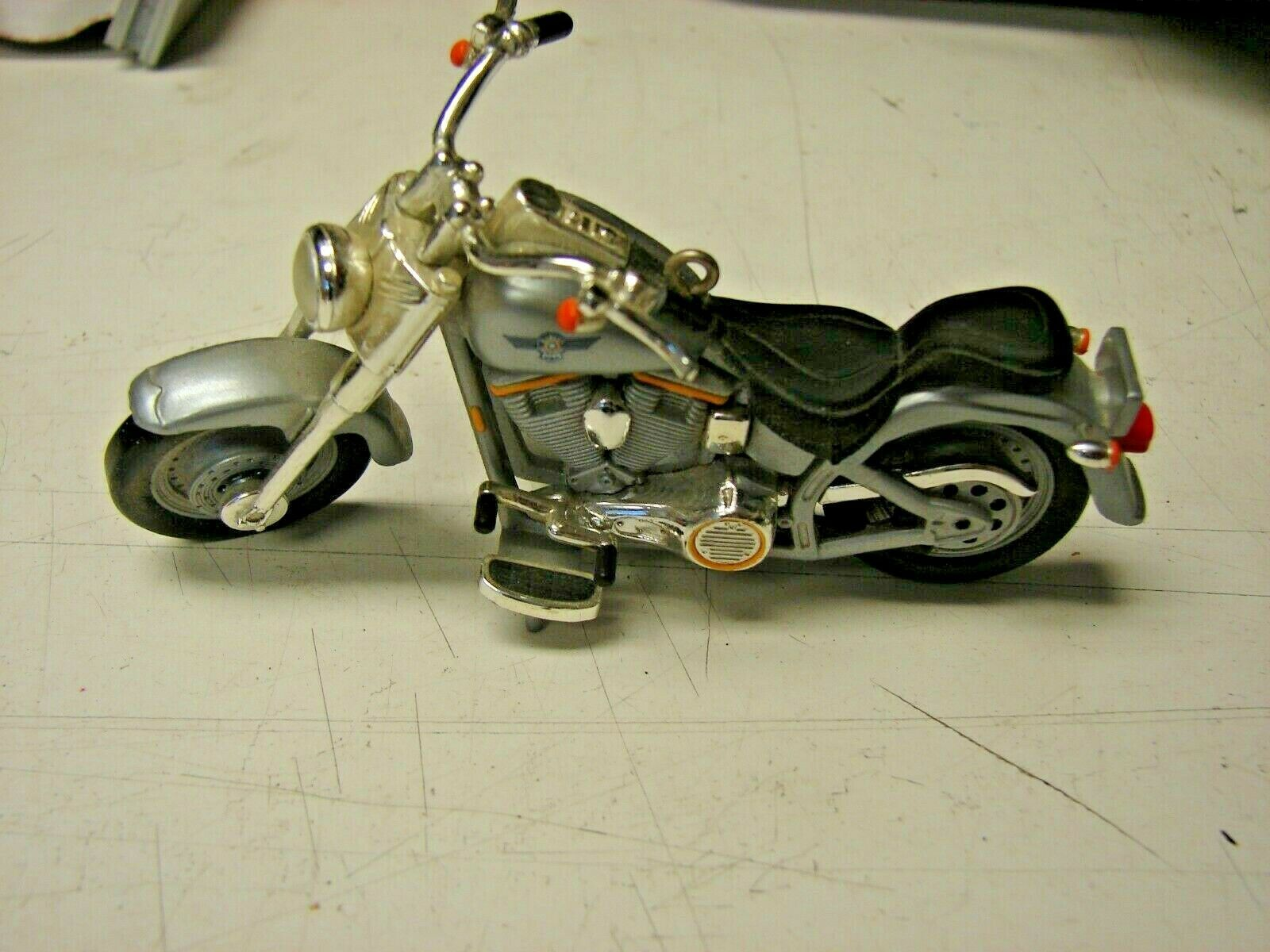 Harley-Davidson FLSTF FATBOY 1990 Motorcycle Model 4 inches long